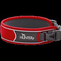 Hunter Halsung Divo - rot/grau - Größe L (67637)