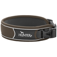 Hunter Halsung Divo - braun/grau - Größe XL (68900)