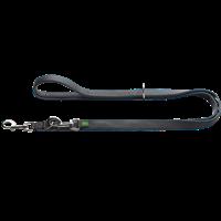 Hunter Verstellbare Leine Divo - dunkelblau/grau - 25 mm x 200 cm (69104)