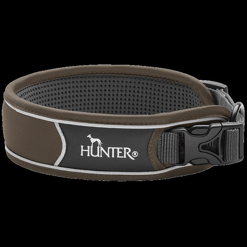 Hunter Halsung Divo - braun/grau - Größe L (68899)