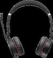 Jabra Cuffie auricolari stereo wireless On-Ear Evolve 75 MS