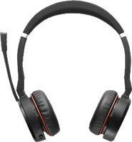 Jabra Evolve 75 MS Auriculares inalámbricos estéreo On-Ear
