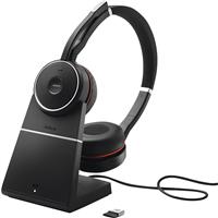 Jabra Evolve 75+ UC bezprzewodowe słuchawki nauszne stereo