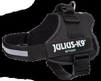 Julius-K9 Powergeschirr - schwarz
