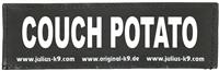 "Julius-K9 Klettsticker (Klettsticker ""COUCH POTATO"")"
