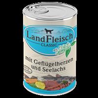 Landfleisch Dog Pur mit Frischgemüse - 400 g