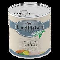 Landfleisch Dog Pur mit Frischgemüse - 800 g - Ente & Reis (440389)