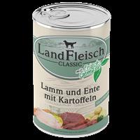 Landfleisch Dog Pur mit Frischgemüse - 400 g - Lamm, Ente & Kartoffeln (440391)