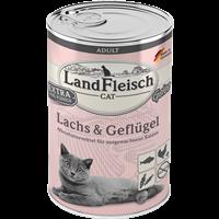 Landfleisch Cat Adult Gelee - 400g - Lachs & Geflügel (9106426)