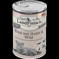 Landfleisch Cat Kitten - 400g - Pastete Rind, Huhn & Wild (9106440)