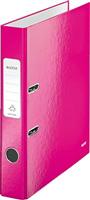 Ordner WOW A4 180° schmal, pink metallic Leitz 1006-00-23
