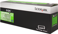 Toner Lexmark 51F2H00