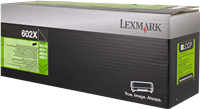 Tóner Lexmark 602X