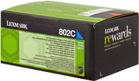 toner Lexmark 80C20C0