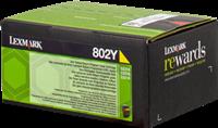 Toner Lexmark 80C20Y0