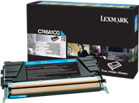 Tóner Lexmark C746A1CG