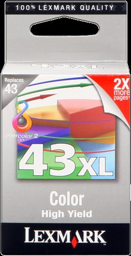 Lexmark 18YX143E 43 XL