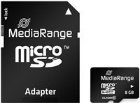 MediaRange Carte mémoire de 4 GB
