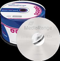 MediaRange CD-R Rohlinge 700MB|80min