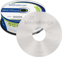 DVD-R 4.7GB MediaRange MR403