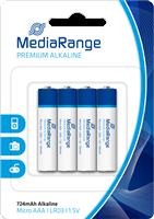 Premium Batterien AAA MediaRange MRBAT101