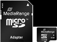 MediaRange Tarjeta de memoria 4 GB