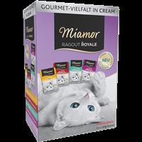 Miamor Ragout Royale Cream Vielfalt - Multipack - 12 x 100 g (73050)