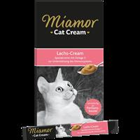 Miamor Cat Snack - Lachs-Cream - 6 x 15 g (74302)