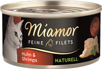 Miamor Feine Filets Naturelle - 80 g