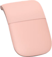 Microsoft Arc Mouse - Mouse pink