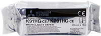 Papel térmico Mitsubishi K91HG