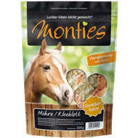 Monties Genießer-Kekse - Möhre & Kleeblatt