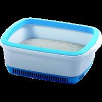 NOBA Premium Katzentoilette - Blau (0897438000531)