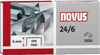 Heftklammern 24/6 Novus 040-0158