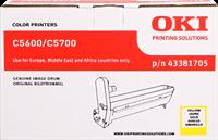 Unidad de tambor OKI 43381705