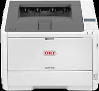 Schwarz-Weiß Laserdrucker OKI B412dn
