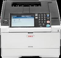 Impresora Láser Color  OKI C542dn