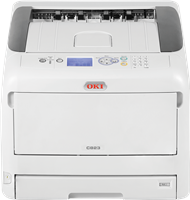Color laser printer OKI C823n