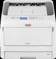 Impresora láser color OKI C823n