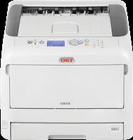 Kleuren laserprinter OKI C833n