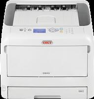Color laser printer OKI C843dn