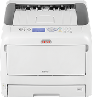 Farblaserdrucker OKI C843dn