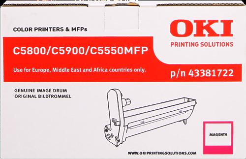 OKI C5550 MFP 43381722
