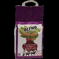 OLEWO Rote Bete-Chips für Hund, Pferd und Nager