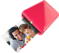 Impresora de fotos Polaroid ZIP Mobile Printer rot