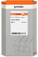 Prindo gel cartridge PRIRGC41c cyan