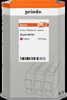 Prindo gel cartridge PRIRGC41m magenta