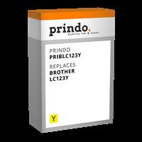 Cartucho de tinta Prindo PRIBLC123Y