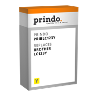 ink cartridge Prindo PRIBLC123Y