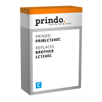Cartucho de tinta Prindo PRIBLC1240C